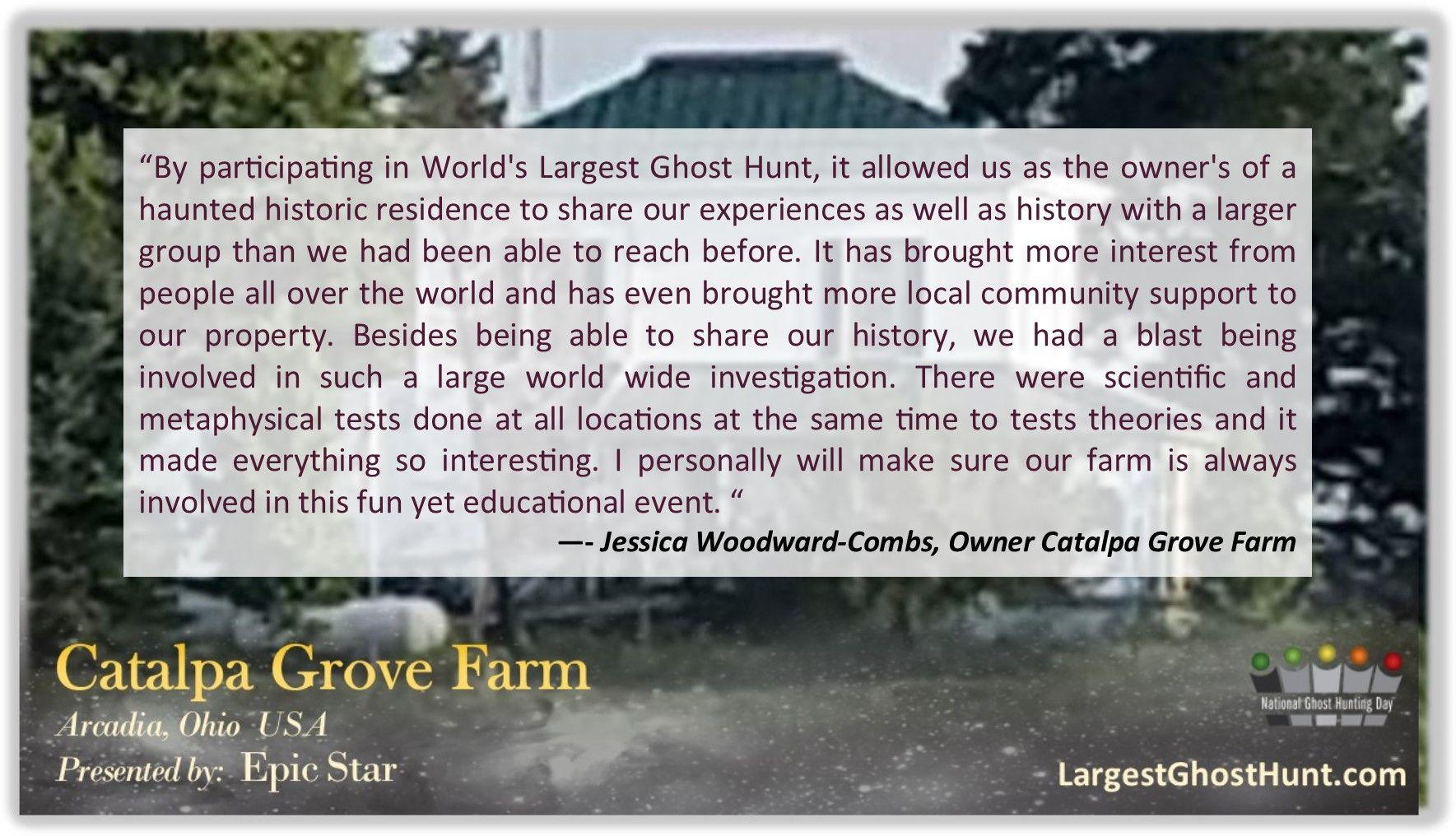Catalpa Grove Farm