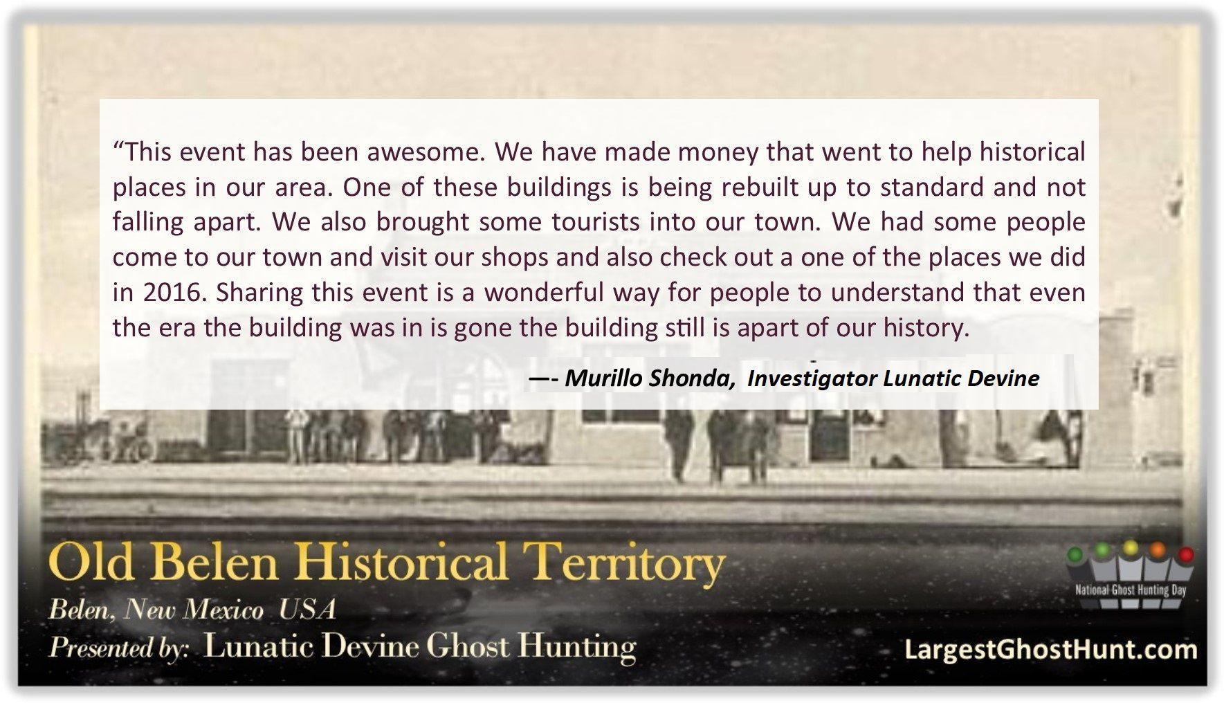 Old Belen Historical Territory